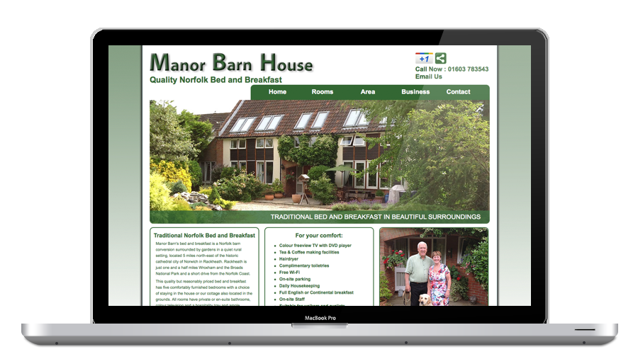 Manor Barn House